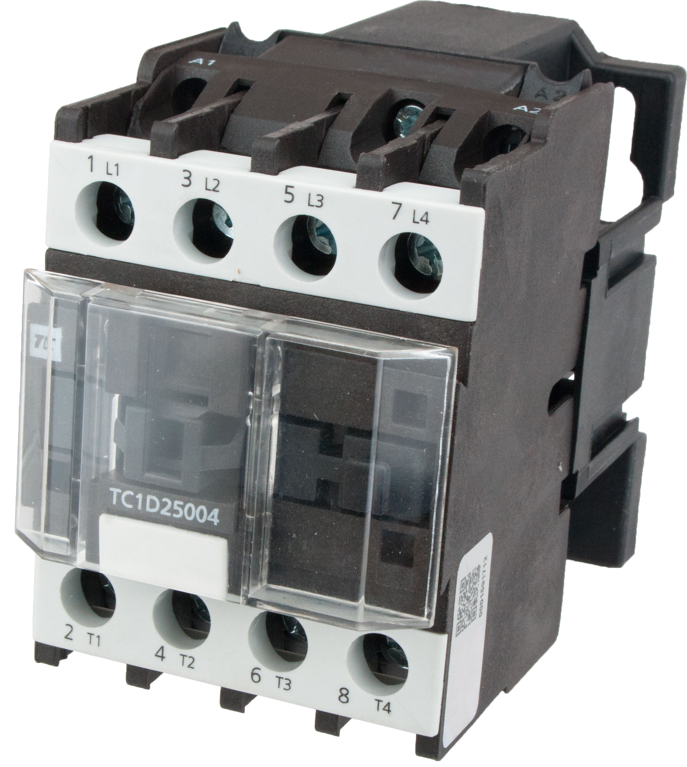 4 Pole Contactor 25 Amp N O 220 Volt Ac Coil Tc1d25004m7 Breaker Fuse Box With Elecdirect