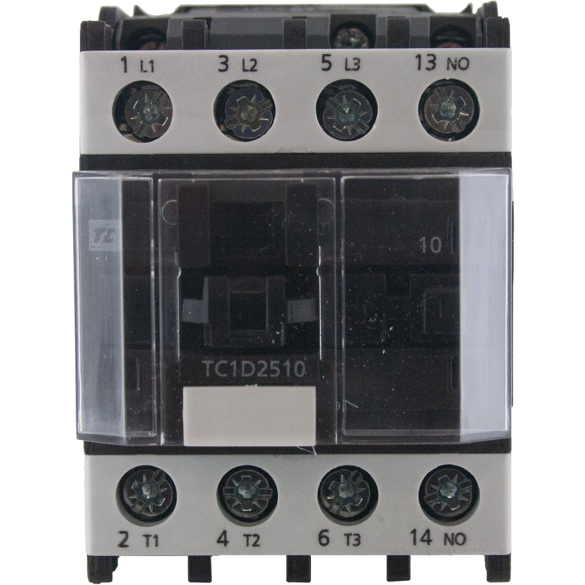 3 Pole Contactor 25 Amp 1 N O 24 Volt Ac Coil Tc1d2510b7 Elecdirect Non Grounding Phase Wiring