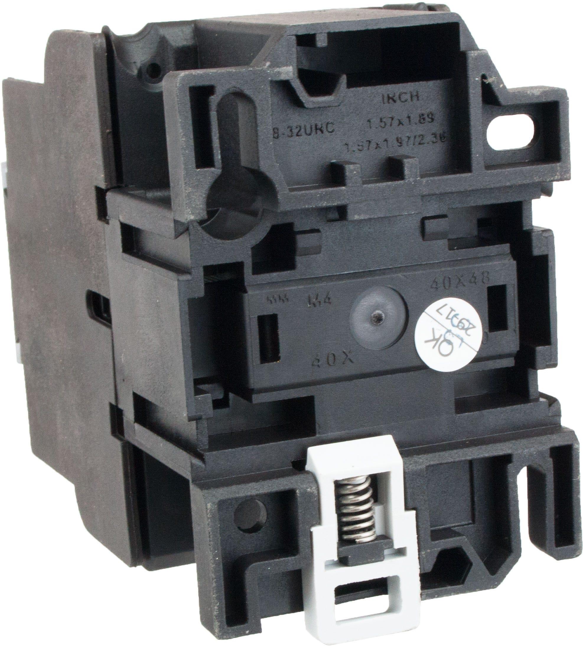 3 Pole Contactor 32 Amp 440 Volt Ac Coil Tc1d3201r7 Elecdirect Working Of Contactors
