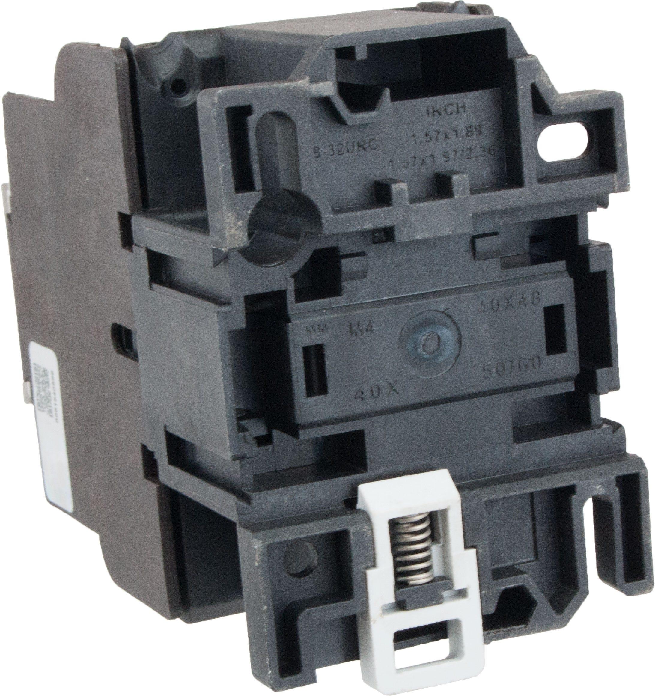 3 Pole Contactor 32 Amp 1 N O 220 Volt Ac Coil Tc1d3210m7 Elecdirect 22 Fuses Breaker Box