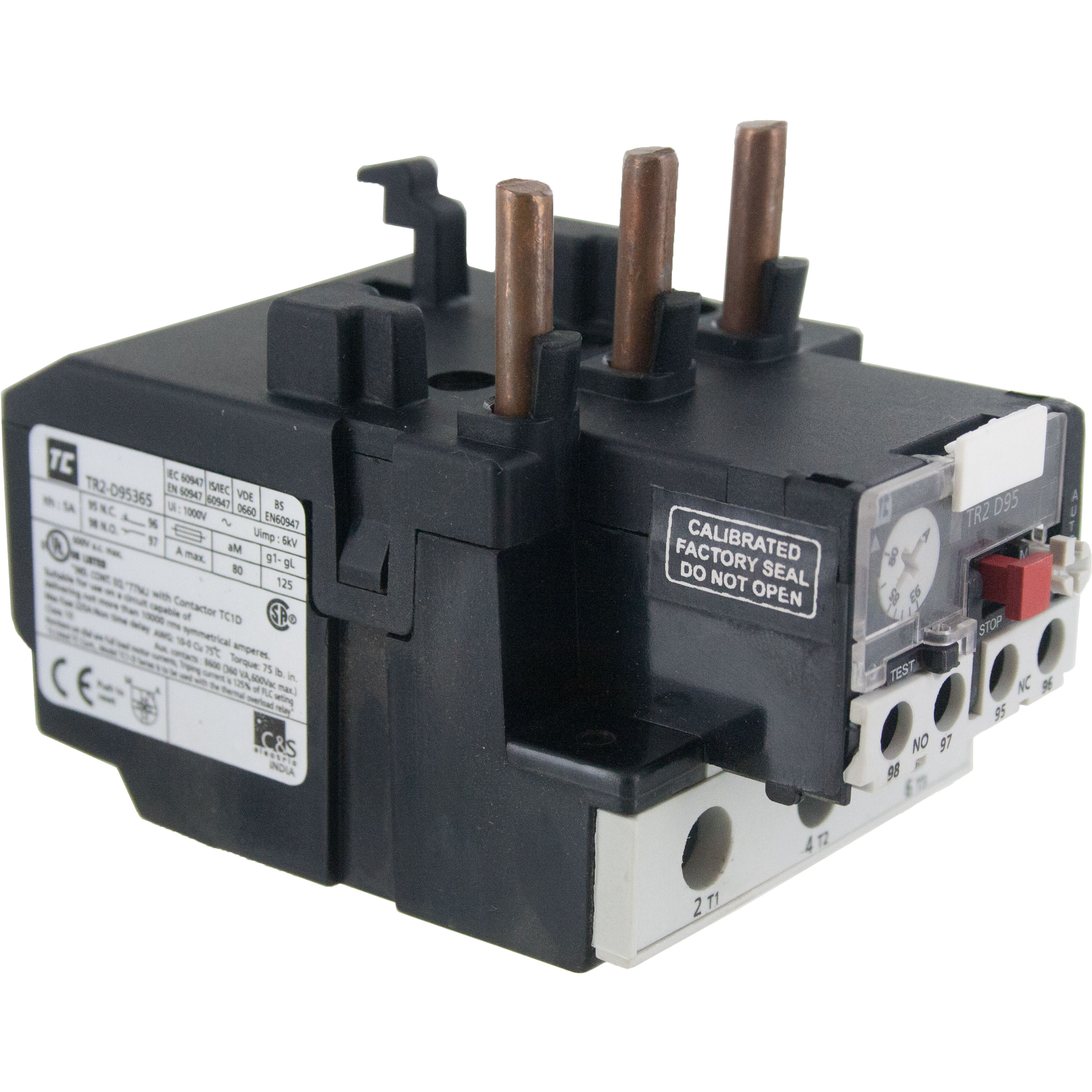 Thermal Overload Relay 8000 9300 Amp Elecdirect Seal In Circuit