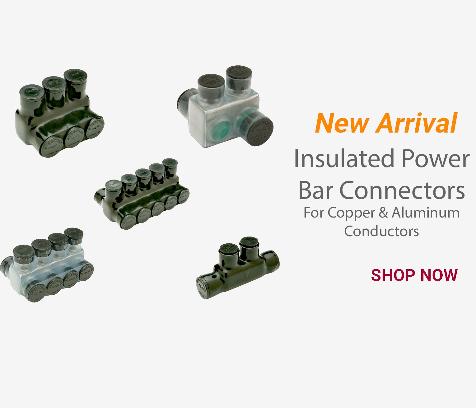 Insulated Power Bar Connectors