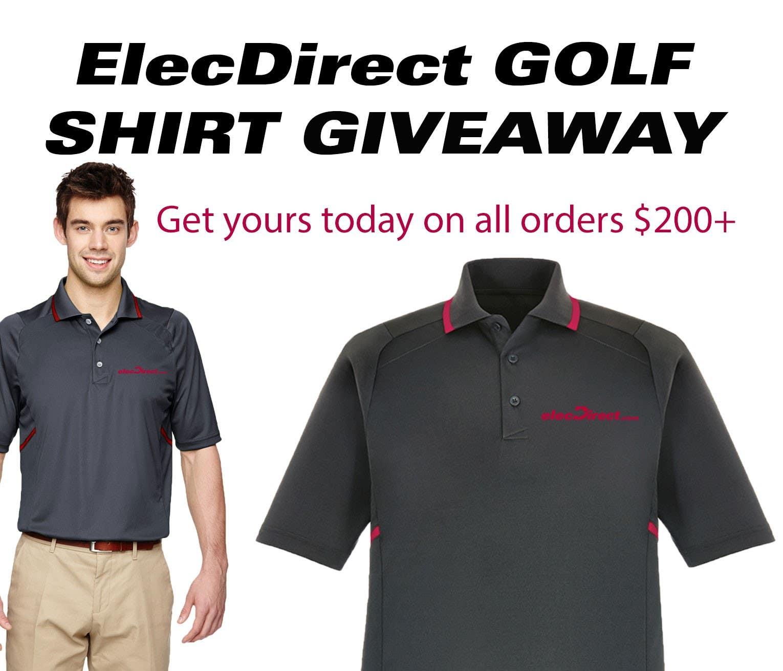 Golf Shirt Giveaway